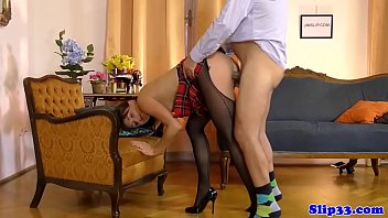 old watche man Wife makes cheating husband lick her ass