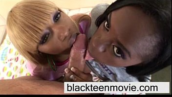ebony meat threesome with Hentai crossdresser gets pegged by lesbians