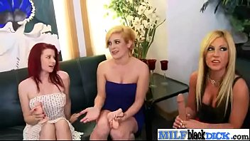 two enjoy stockings in milfs making classy out Lesbian humuliation spit moute