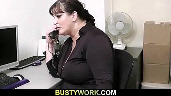 secretary vs boss Ed power with sylvia