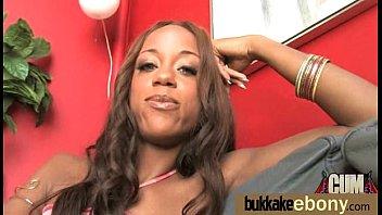 ebony squirt bukkake Swinger shy girl