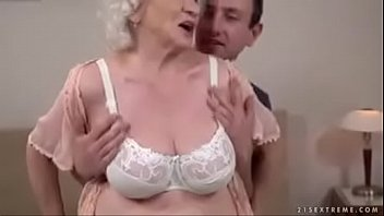 granny hooters classy Girl brutally jacks off cock
